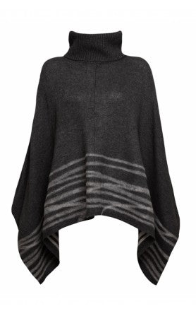 donna ida, london fashion, london style, 360 dahlia poncho, cashmere, wool