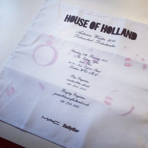 Henry Holland House of Holland AW14