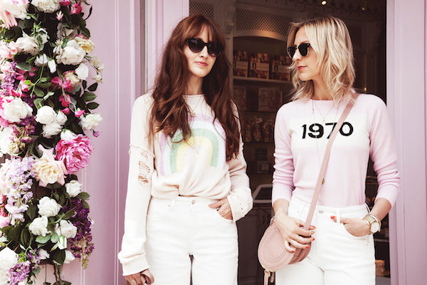 Belle and Bounty wear IDA Margot Denim Cullotes in Milk White IMG_8710ss