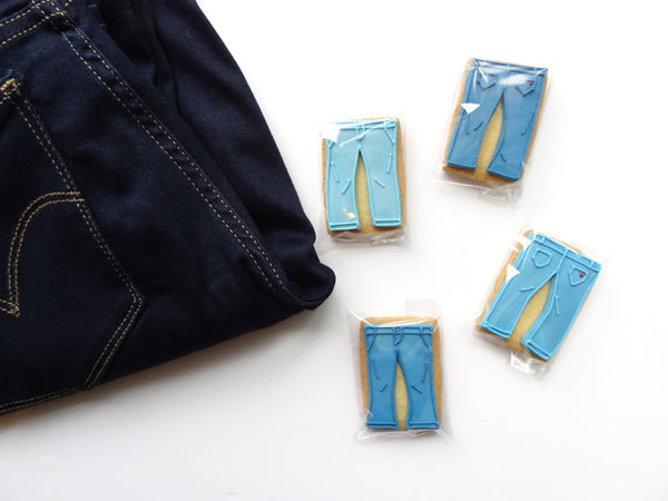 The Whisk and Spoon jean cookies