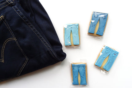 How To Make The Whisk & Spoon Jeans Shaped Cookies
