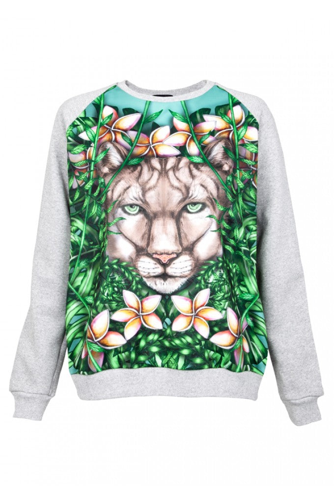 Deetz Cougar Sweatshirt Available at DONNA IDA