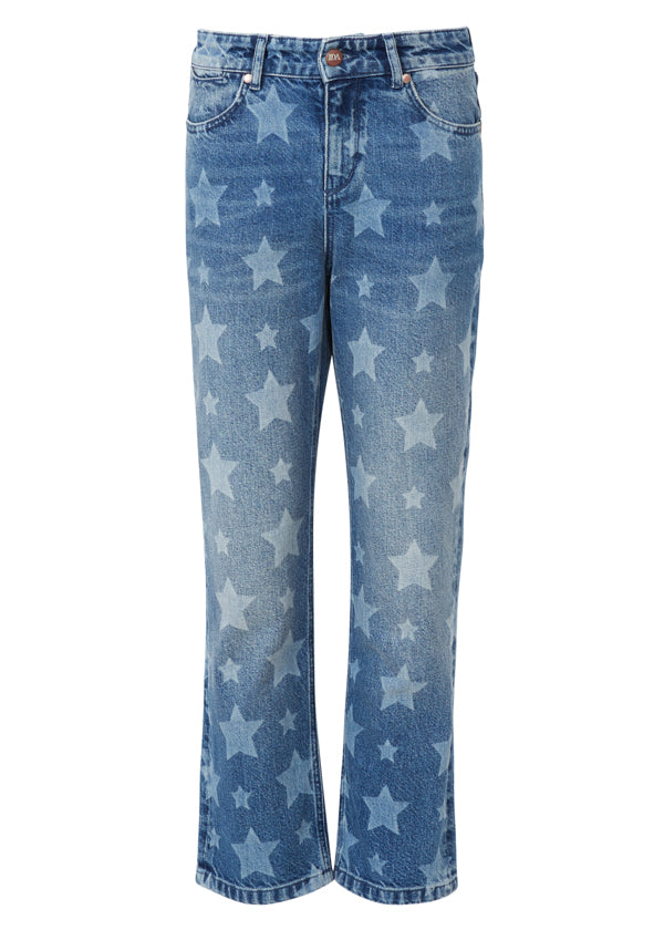 Donna Ida Boy Dazzler in the 90's Star Spangled Jeans 1_1