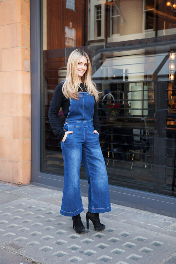 Donna Ida Thornton wears IDA Ramona the Culotte Pinafore