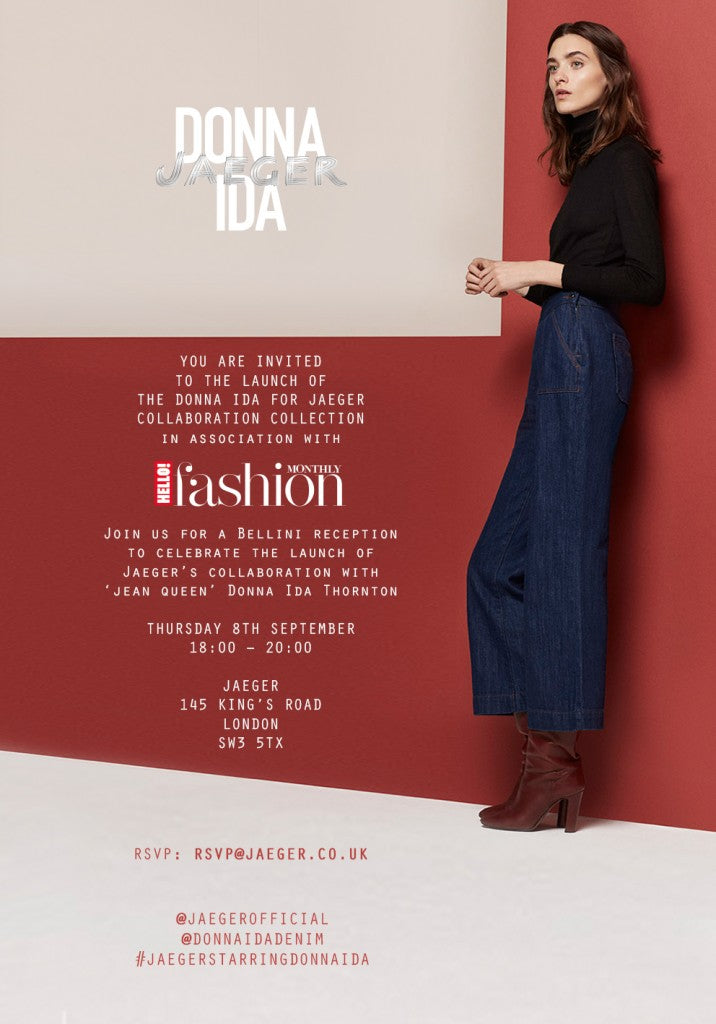 Donna Ida x Jaeger Hello Fashion Monthly Event - 8th September