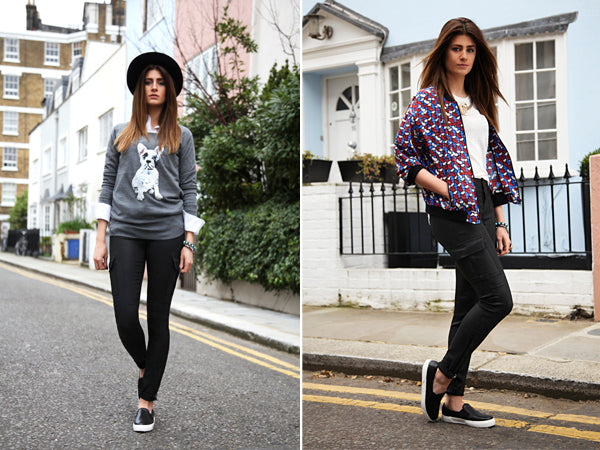 How to wear exclusive to Donna Ida J Brand Ashton Cargo Skinny in Lacq Black, donna ida, london fashion, london style, blogger fashion, blogger style, skinny jeans