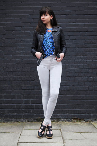 How to style xclusive to Donna Ida J Brand Major Skinny Jeans in Silverstone, donna ida, london fashion, london style, blogger fashion, blogger style, skinny jeans