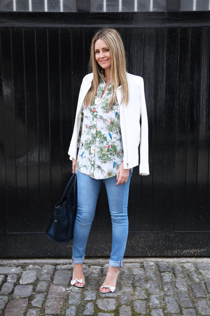 Jean Queen, Donna Ida Thornton, Equipment Shirt, IRO Jacket, IDA Jeans, Donna Ida, fashion