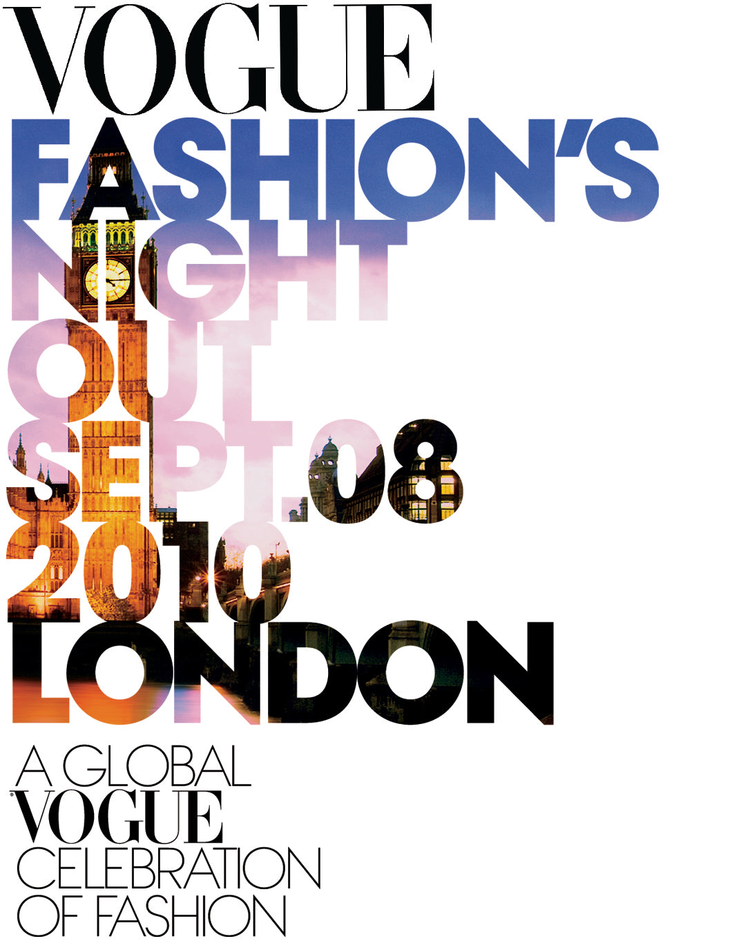 Vogue Fashion Night out at Donna Ida