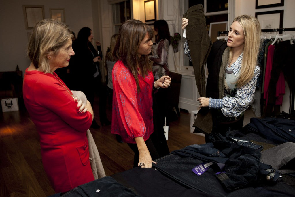 Avril Groom from the FT's 'How to spend it' talks jeans with Georgie and Donna.