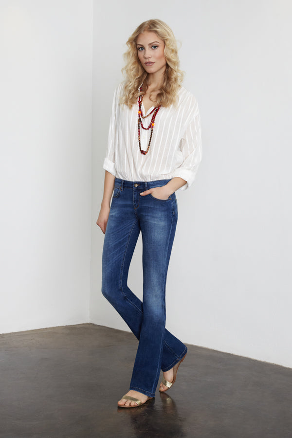 IDA Gypsy Relaxed Classic in 60s Bardot Jeans