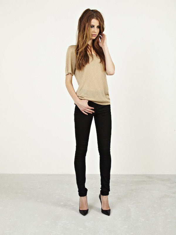 IDA IVY Skinny Noir Jeans £150 IDA St Tropez Golden Girl £100, black jeans, work jeans, smart jeans, Donna Ida, fashion, denim, outfit, London