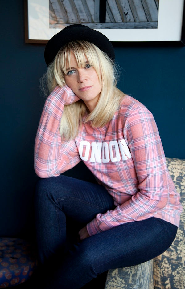 Edith Bowman, Wildfox Jumper, IDA in Night Fever, Donna Ida, fashion, jeans, denim, London, outfit