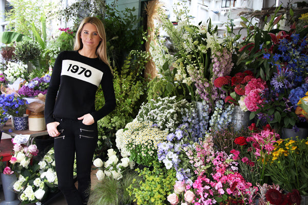 Lady Kinvara Balfour, Bella Freud 1970 jumper, Paige Edgemont jeans, black jeans, denim, Donna Ida, fashion