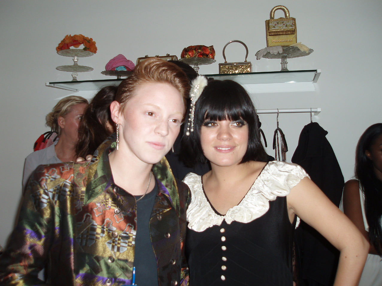 Lily Allen La Roux at Lucy in Disguise