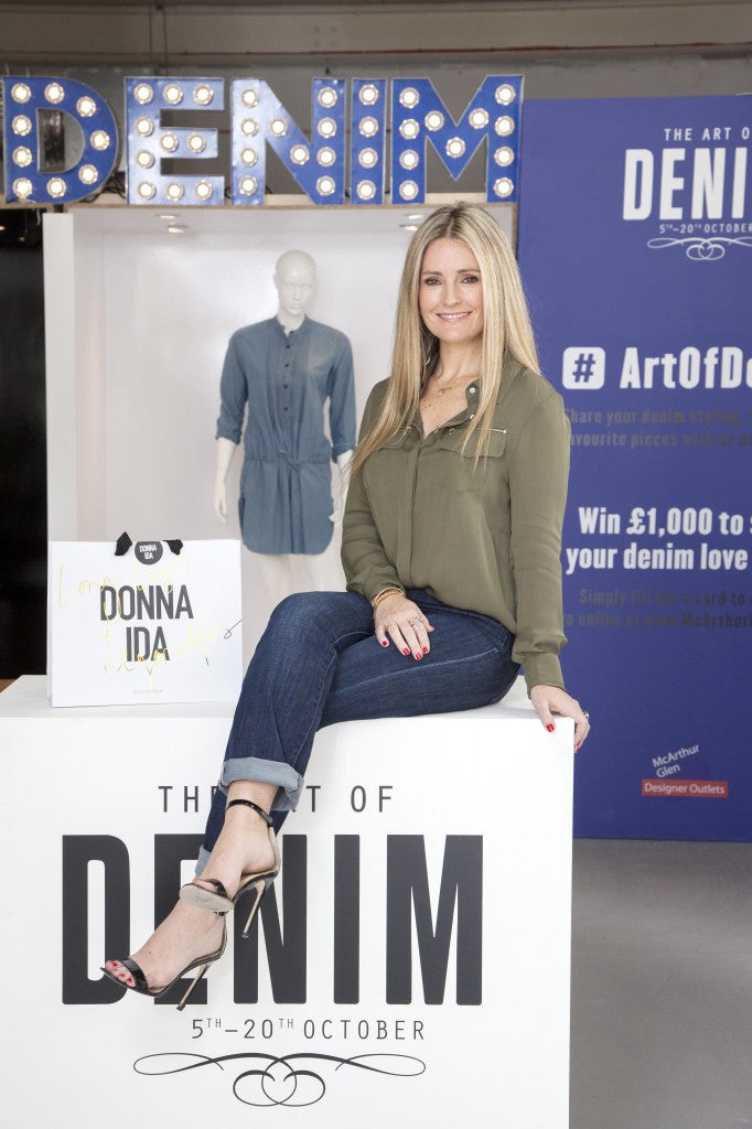 donna ida, london fashion, london style, pop up shop, donna ida thornton, denim queen, jean queen, McArthurGlen Cheshire Oaks, Art of Denim campaign