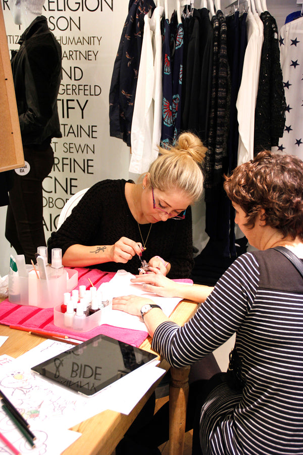 Manicure's from Gloss and Polish, donna ida, london fashion, london style, london mothers club, fashion advice, jean queen, Westfield boutique