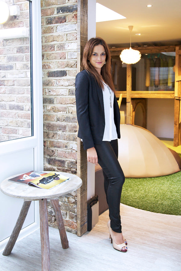 Maggie Bolger, Rose Astor, Donna Ida, Pyrus Blouse, J Brand Leather Leggings, fashion, sophisticated outfit, London