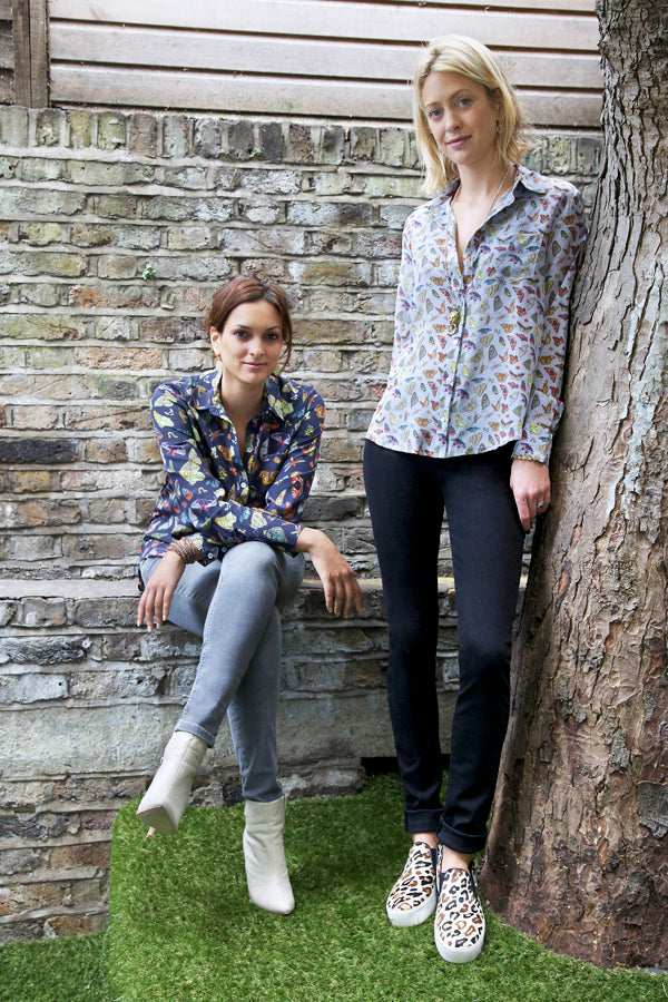 Maggie Bolger, Rose Astor, Donna Ida,  Silken Favours Shirts, jeans, denim, J Brand, Frame Denim, fashion, London, outfit