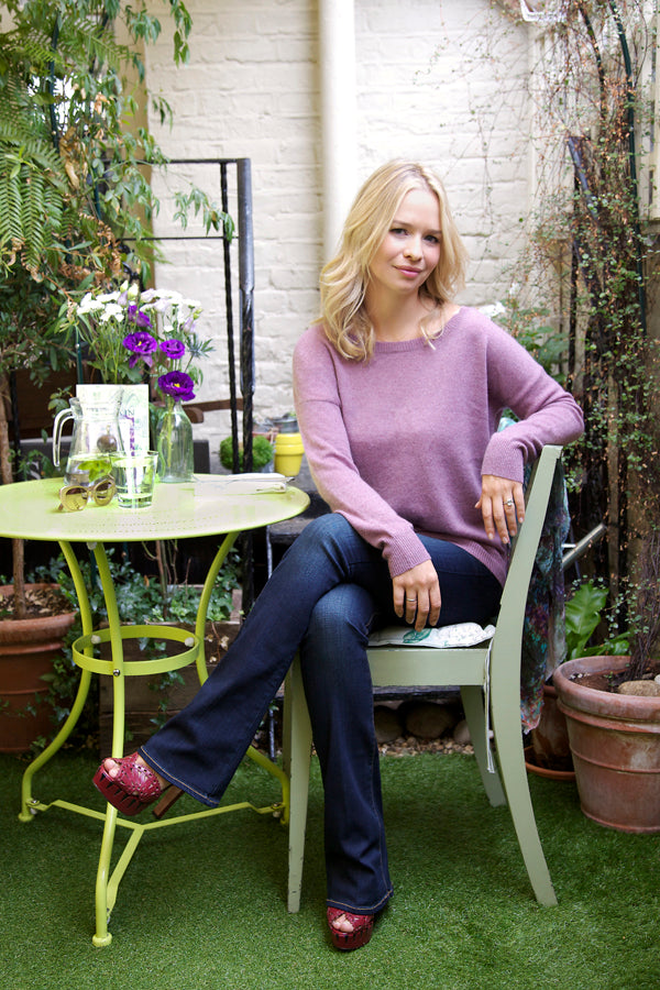 Marissa Hermer, 360 Sweater, Paige Jeans, denim, Donna Ida, fashion