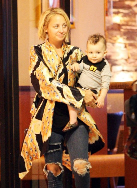 Nicole Richie wears Winter Kate at Donna Ida