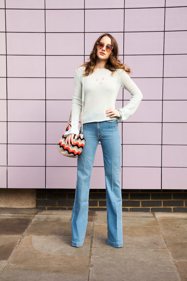 Rosie Fortescue from Made in Chelsea wears Mother Denim and 360 Cashmere from DONNA IDA IMG_7111ss