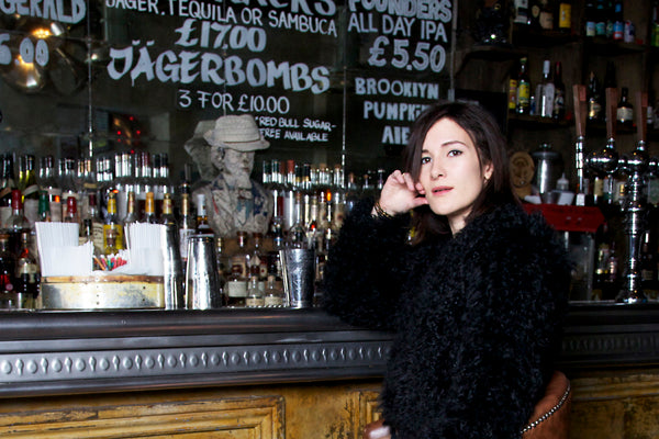 Sarah Solemami, Style Insider, Ravn Coat, Donna Ida, fur coat, black coat, winter coat, fashion, London, outfit