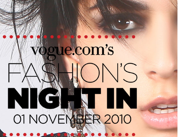 Donna Ida for Vogue Fashion's Night In