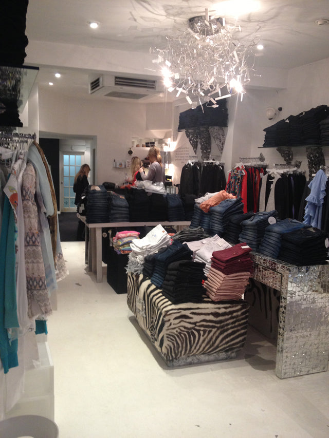 donna ida, chelsea boutique, renovations, draycott ave, building, shop fit, london fashion, london style, street style