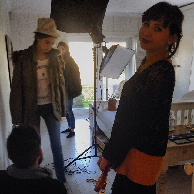 donna ida, behind the scenes, location, shooting, photography