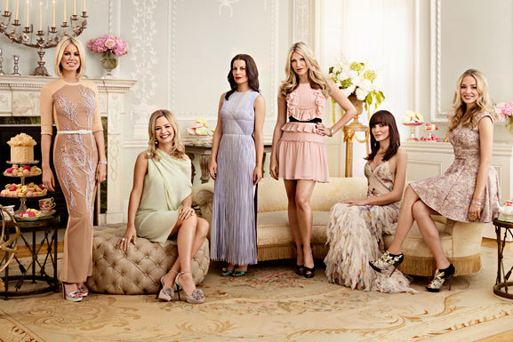 Marissa Hermer with her Ladies of London co-stars