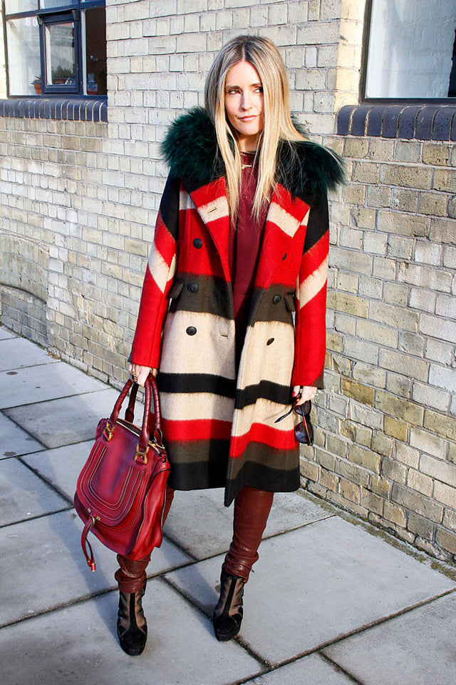 donna ida, donna ida thornton, j brand, leather leggings, red, fur, ida, presents, london fashion, london style, street style, street fashion, blogger style, blogger fashion,