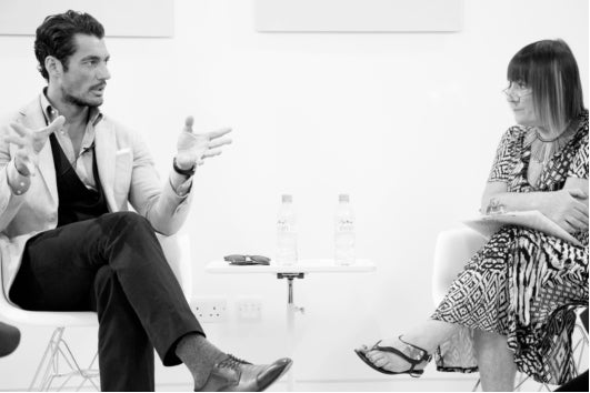 Hilary Alexander interviews David Gandy for at The Industry London, donna ida, london fashion, interview, london blog, london style