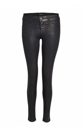 donna ida, london fashion, london style, j brand, leather jeans, black skinny jeans,