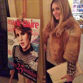 donna ida, london fashion, london style, marie claire, magaine, 25th birthday
