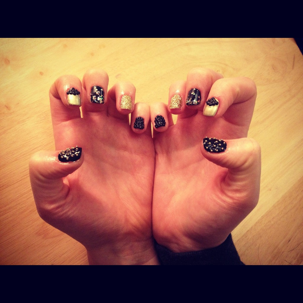 donna ida, london fashion, londo style, chelsea boutique, suzan kerlo, sugarcoat nails, manicure