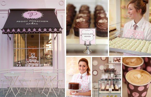 donna ida, london fashion, london style, peggy porschen, cup cakes, coffee, tea, voucher, cakes