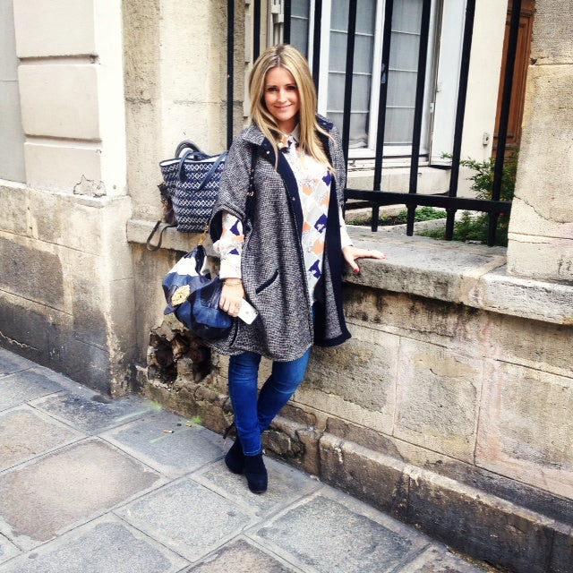 donna ida, london fashion, london style, paris, roseanna cape, mother of pearl shirt, mabel jeans, mui mui, walter steiger boots