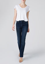 Jeanie Cigarette Leg Jeans - Big Skies