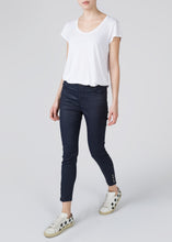Vera High Top Button Ankle Crop - Greased Sailor