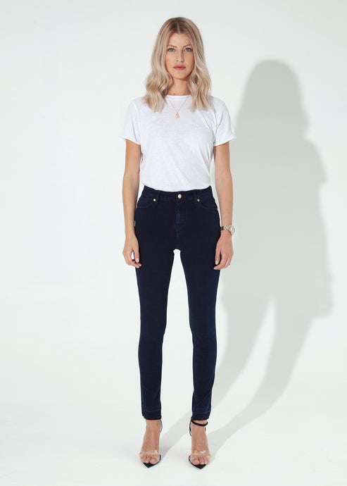 Rizzo High Top Ankle Skinny Jeans - Release Me I'm Yours