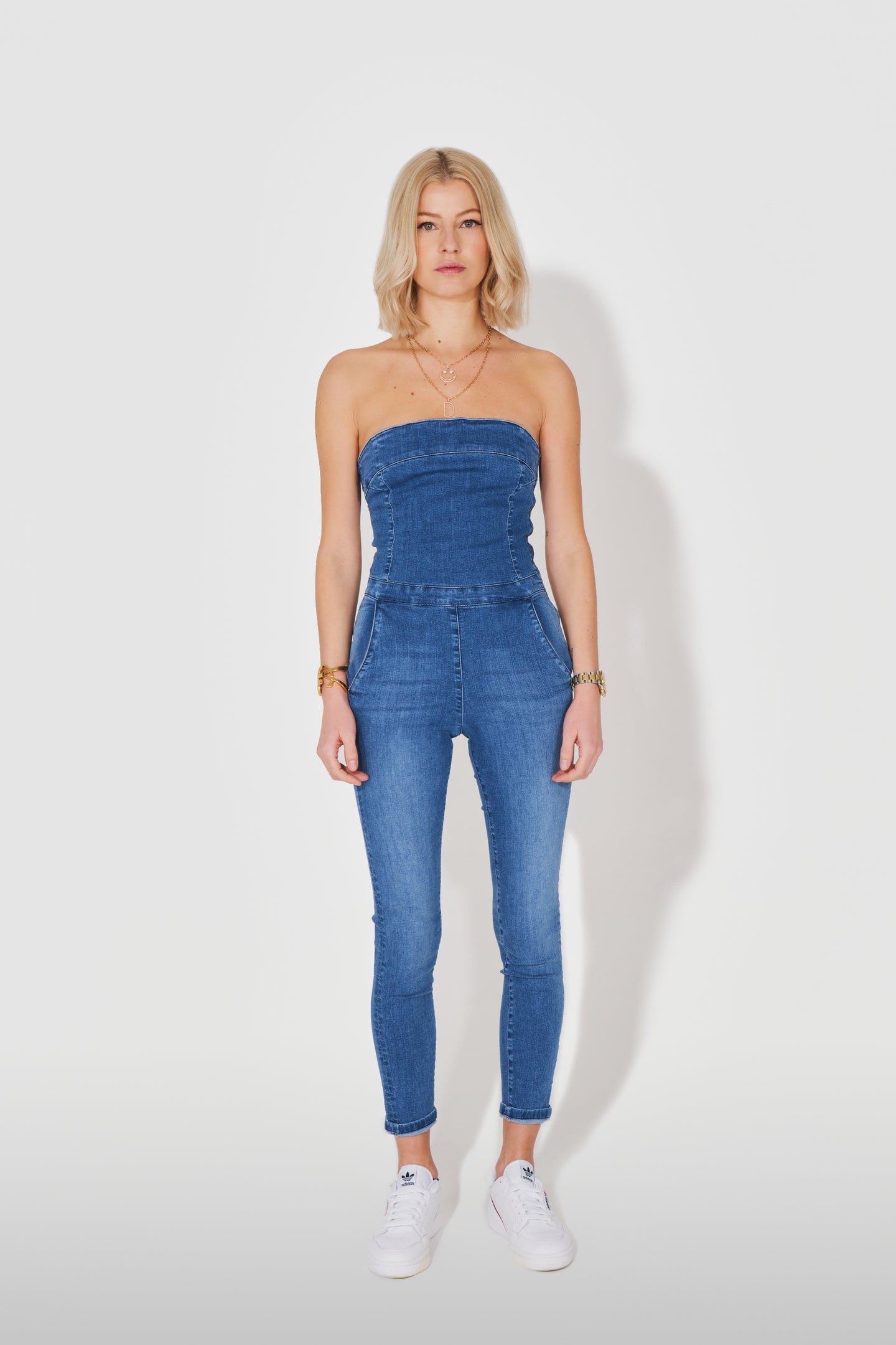 Olivia The Strapless Jumpsuit - You're The One That I Want