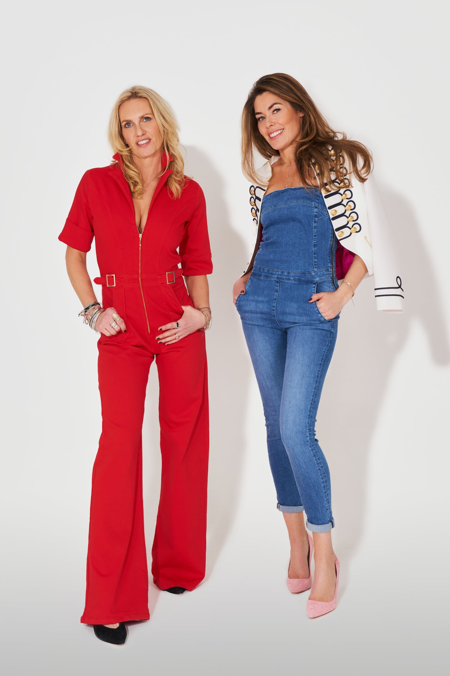 Cassandra Flared Jumpsuit - Love That Red