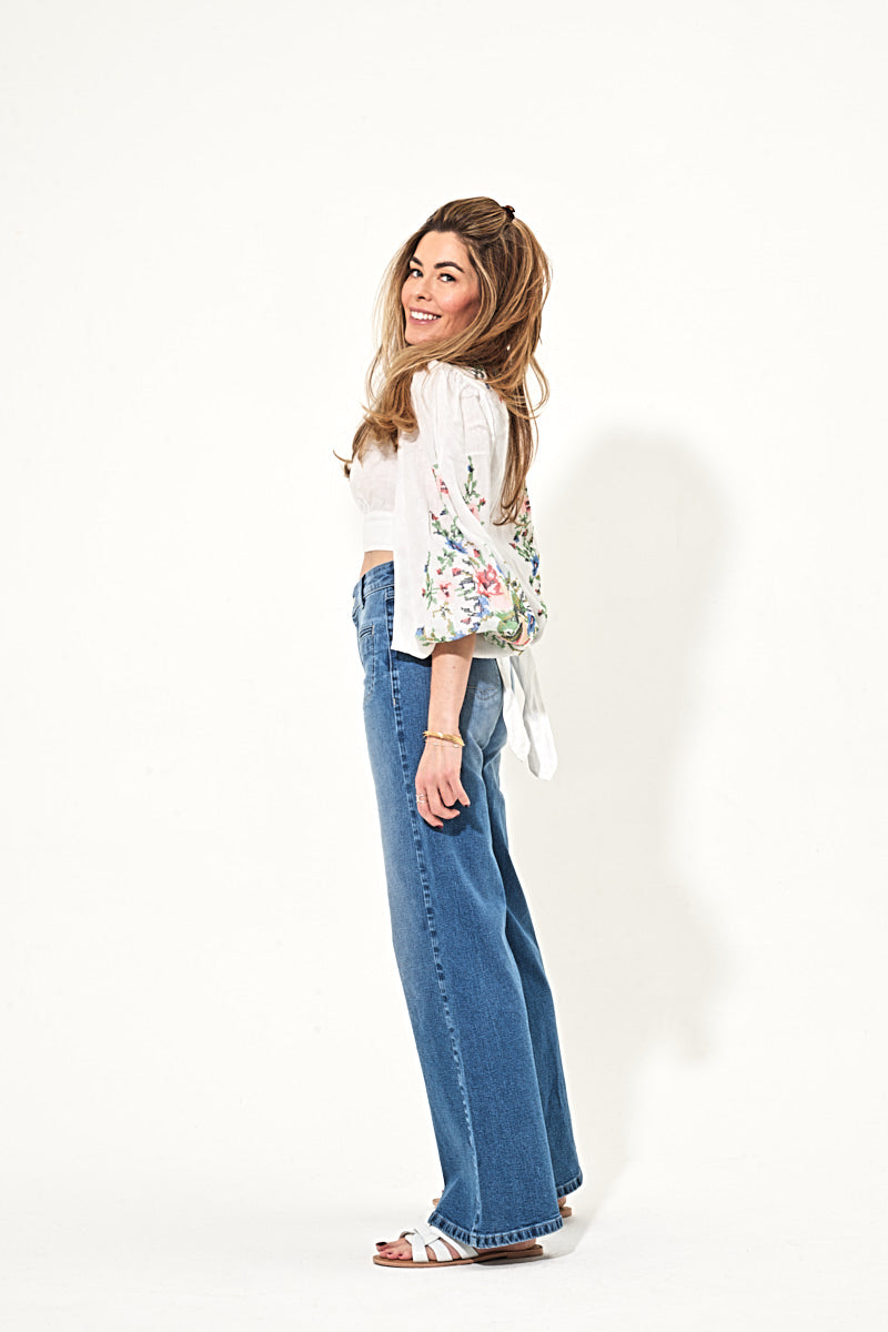 Kate The High Top Patch Pocket Relaxed Leg - Can I Be You