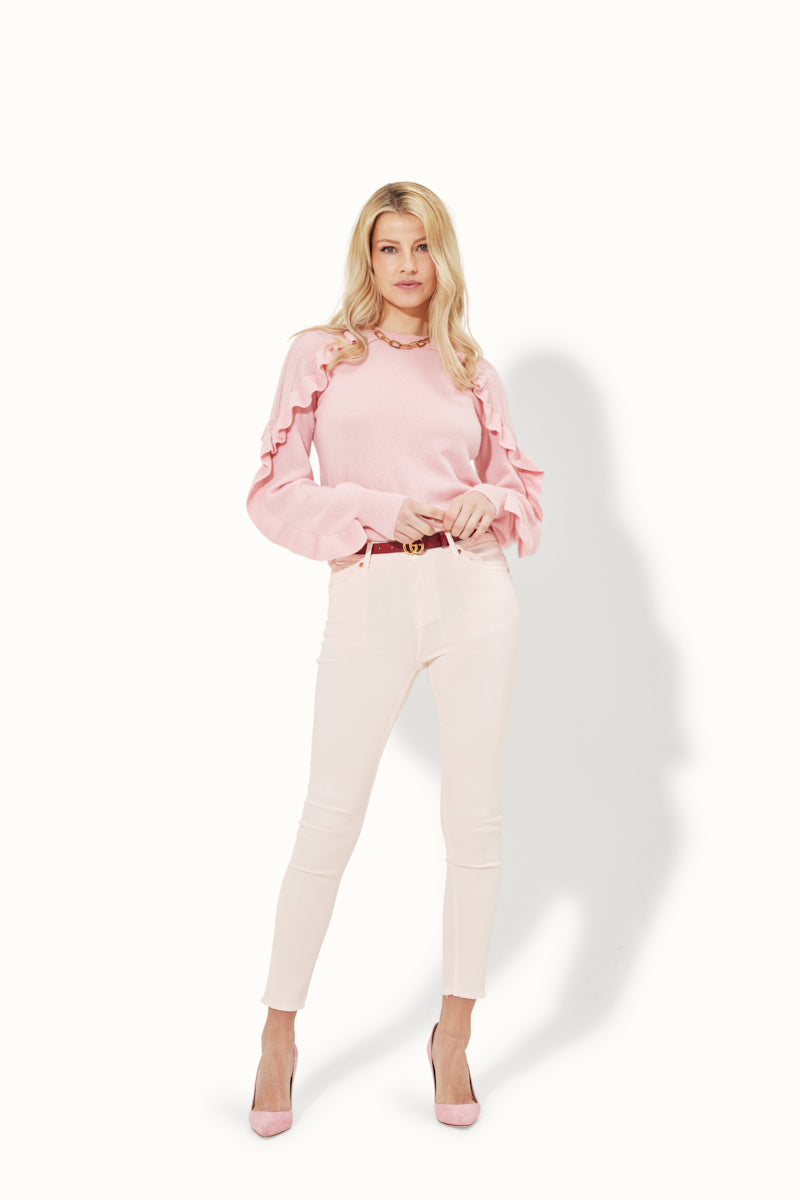 Prudence The High Top Ankle Crop - Let's Pinky Promise