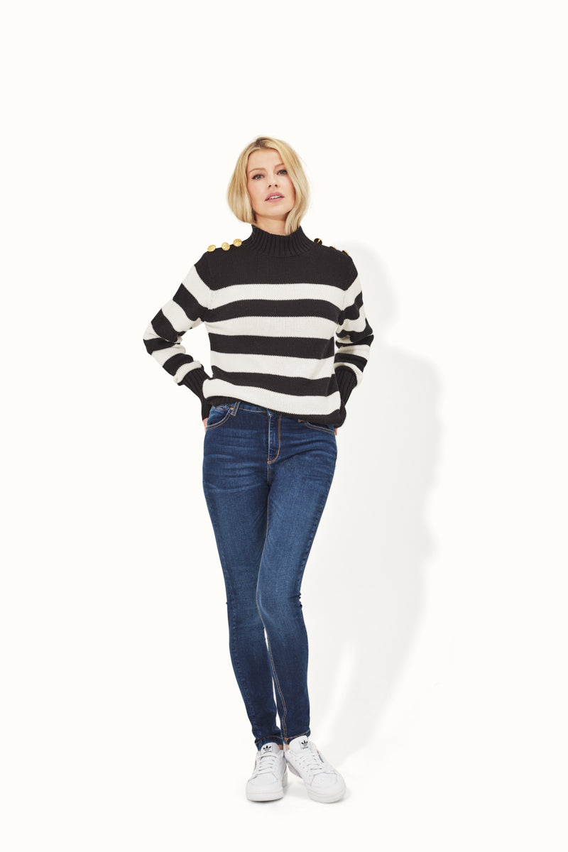 Cable Me Captain The Nautical Themed Jumper - Ode to Nancy