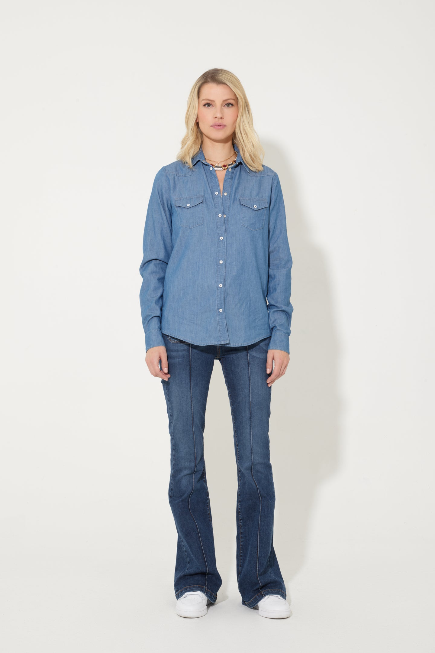 Downtown LA	The Western Shirt - Pared Back