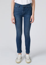 Mabel High Top Ankle Slim Jeans - Moonlight