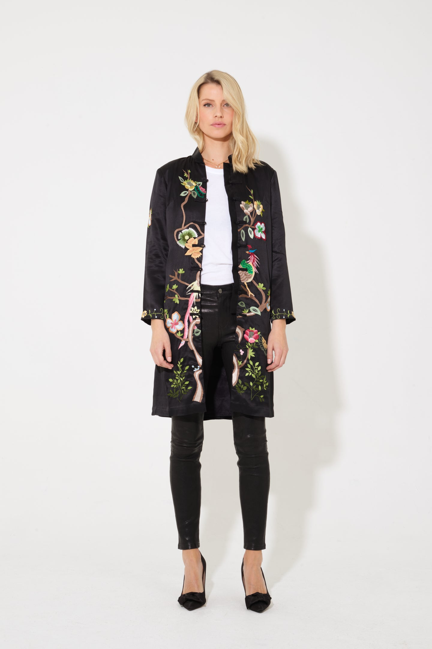 China Doll The Embroidered Statement Coat - Hong Kong Calling