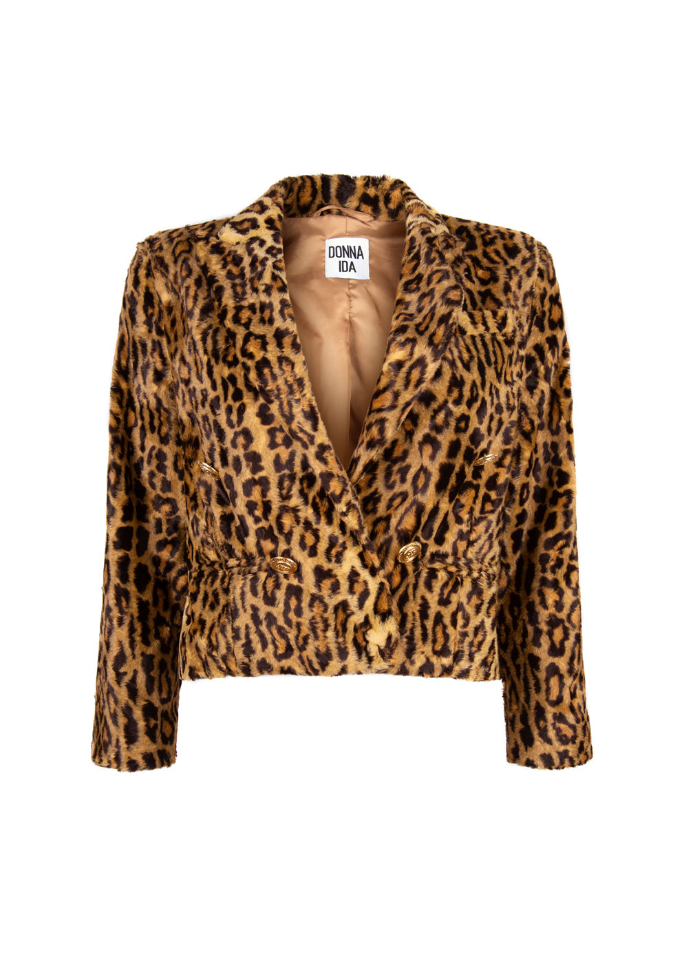 Baby Army The Cropped Tux - Leopard's Golden Hour